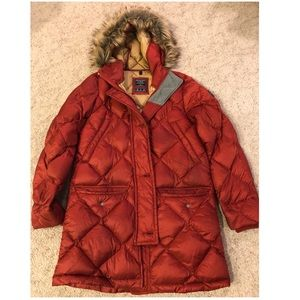 Abercrombie Down Filled Parka